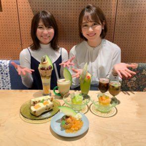 青森県つがる市のメロンの魅力を再発見できるパフェ!